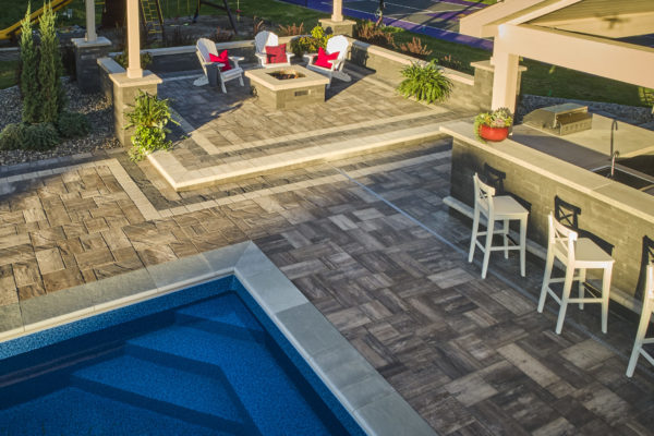 Paver Pool Deck - Paver Overlays